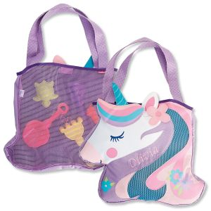 Personalized Unicorn Beach Tote by Stephen Joseph®