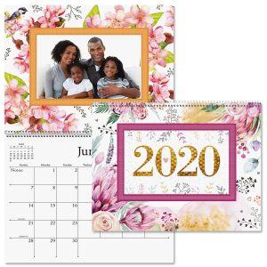 2020 Floral Photo-Insert Calendar