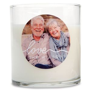 Love Photo Candle