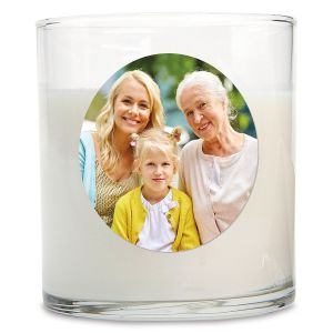 Full Photo Candle