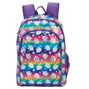 Personalized Unicorn Hologram Backpack
