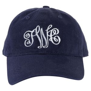 Personalized Navy Ball Cap