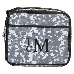 Personalized Digital Camo Lunch Tote