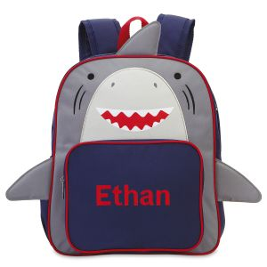 Shark Personalized Preschool Backpack