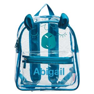 Personalized Llama Clear Backpack