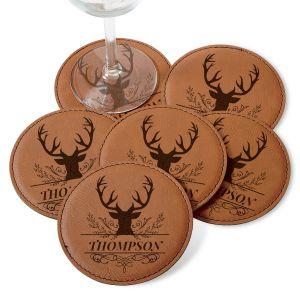 Deer Coaster Set
