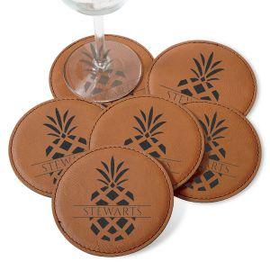 Pineapple Coaster Set