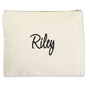 First Name Zippered Pouch