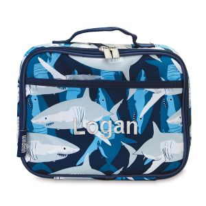 Personalized Shark Lunch Tote