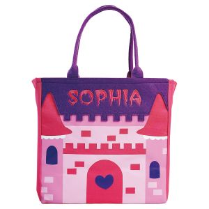 Castle Halloween Tote Front