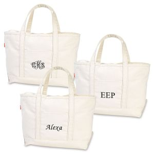 Personalized Large Boat Tote
