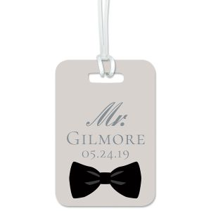 Bow Tie Luggage Tag