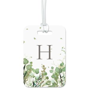 Leaves Luggage Tag