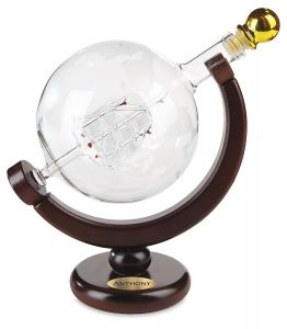 Personalized Globe Decanter