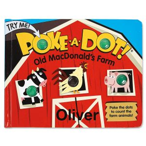 Personalized Poke-A-Dot Book by Melissa & Doug®