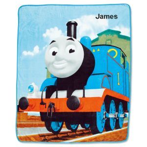 Personalized Thomas the Train Fleece