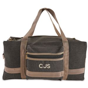 Slate Personalized Weekender Duffel Bag