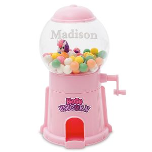 Unicorn Personalized Gumball Machines