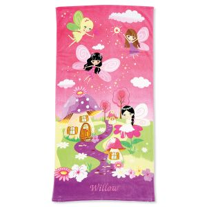 Fairy Personalized Towel