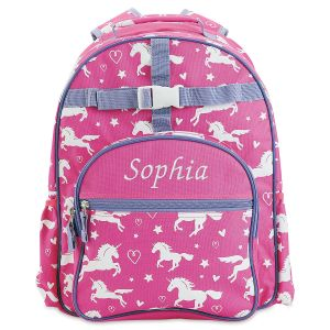 Personalized All-Over Unicorn Backpack