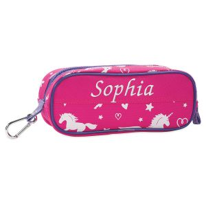 Personalized Unicorn Pencil Case