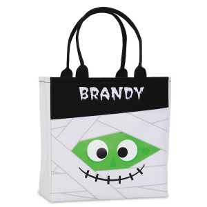 Personalized Marvin the Mummy Halloween Tote
