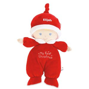 Personalized My First Christmas Doll