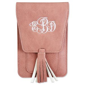 Personalized Harper Crossbody Bags - Pink
