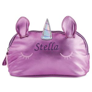 Personalized Unicorn Shimmer Pouch by Stephen Joseph®