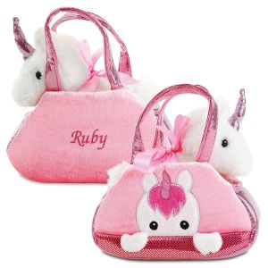 Personalized Unicorn Peek a Boo Purse