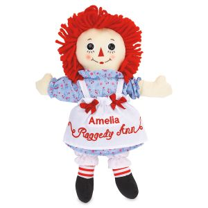 Personalized Raggedy Ann Doll