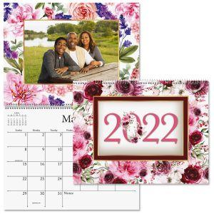 2022 Floral Photo-Insert Calendar