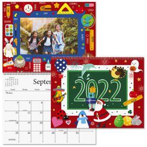2022 Graphic Photo-Insert Calendar