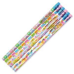 #2 Personalized Hardwood Pencils - Sugar Joy