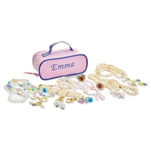 Personalized Kids Play Jewelry in Case