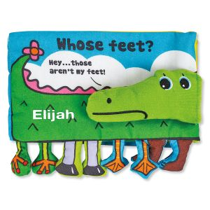 Personalized Whose Feet? Alligator Book by Melissa & Doug®