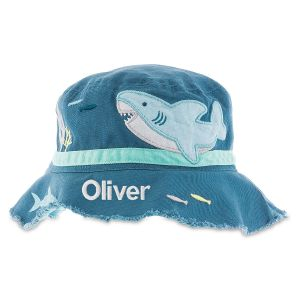 Personalized Bucket Shark Hat by Stephen Joseph®
