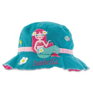 Personalized Bucket Mermaid Hat by Stephen Joseph®