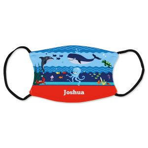 Personalized Under the Sea Kids Mask