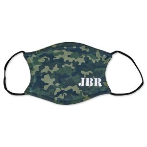 Personalized Adult Camo Mask