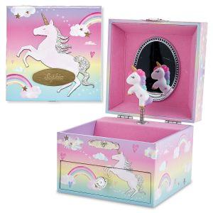 Personalized Cotton Candy Unicorn Dreams Music Box