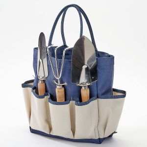 Personalized Garden Tote with Tools