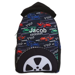 Personalized Race Car Backpack