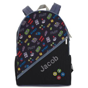 Gamer Personalized Backpack