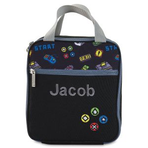 Gamer Personalized Lunch Tote