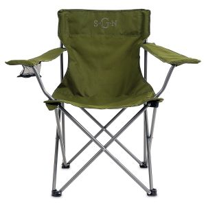 Personalized Green Camping Foldable Chair
