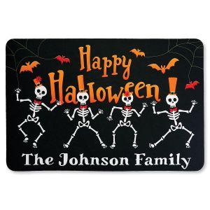 Personalized Skeleton Doormat