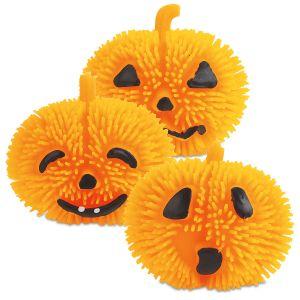 Light-up Pumpkin Puffers