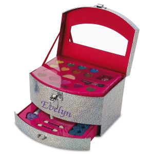 Personalized Let's Sparkle Cosmetic Case