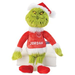 Personalized Grinch Doll